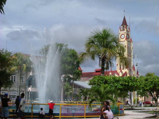 Iquitos, Loreto - Plaza de Armas Fountain .JPG