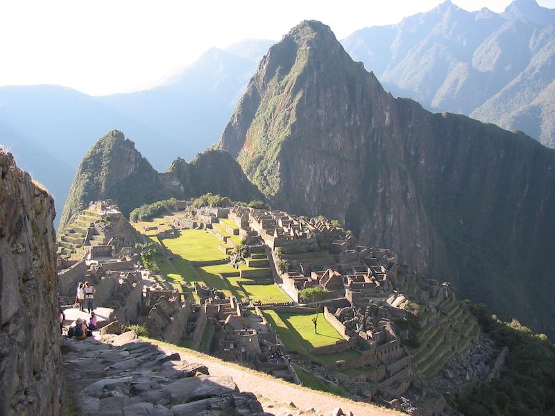 Low-Altitude Machu Picchu 4D