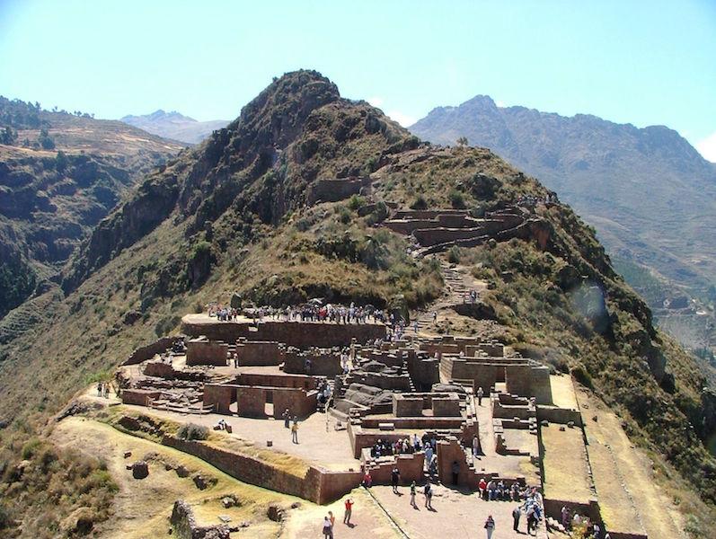Low Altitude Machu Picchu - Pisac Ruins & Mountain.jpg