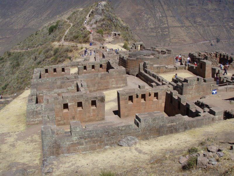 Low Altitude Machu Picchu - Pisac Ruins & Path to Pisac Town.JPG