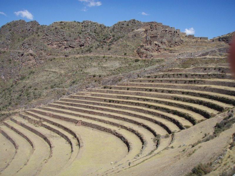 Low Altitude Machu Picchu - Pisac Ruins & Terracing.JPG