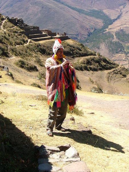 Low Altitude Machu Picchu - Quechua Musician.jpg