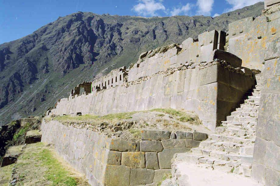 Low Altitude Machu Picchu - Ollantaytambo Fortress