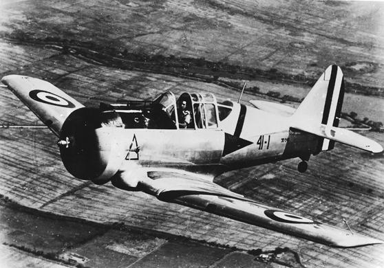 Jose Quiñones - Chiclayo Airport - NA-50 Fighter