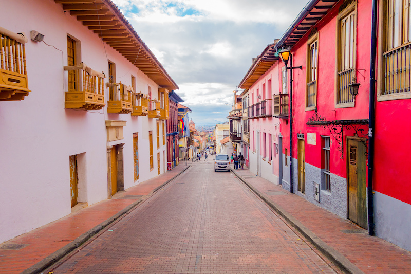 Colombian Highlights - Bogota - Colonial Street.jpg