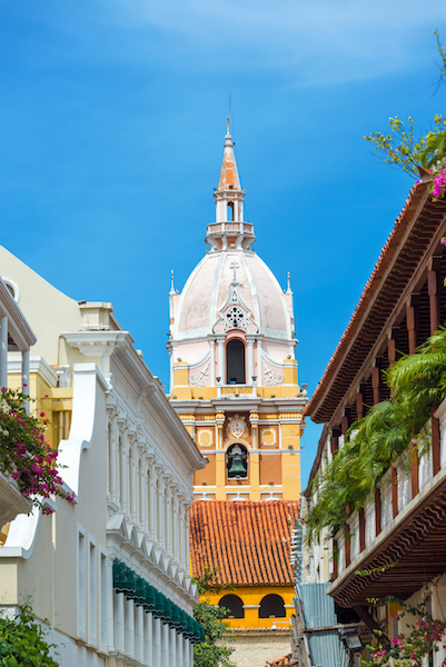 Colombian Highlights - Cartagena - Bell Tower.jpg