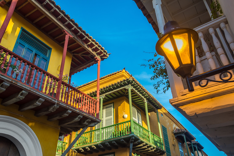Colombian Highlights - Cartagena - Colonial Balconies.jpg
