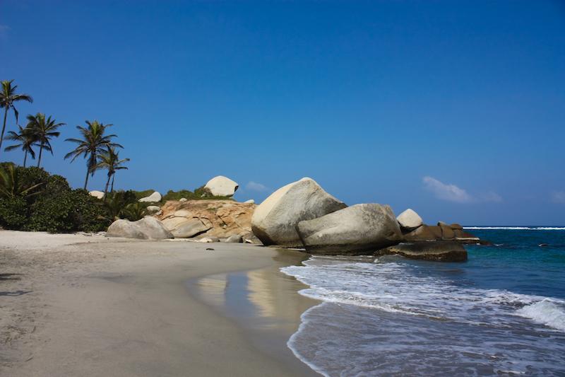 Colombian Highlights - Tayrona - Beach & Rocks.jpg