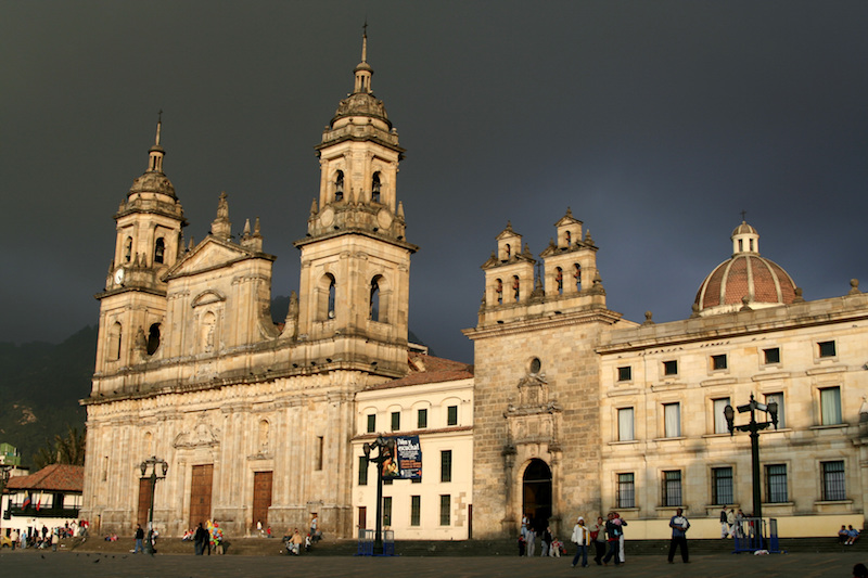 Colombian Highlights - Bogota Cathedral