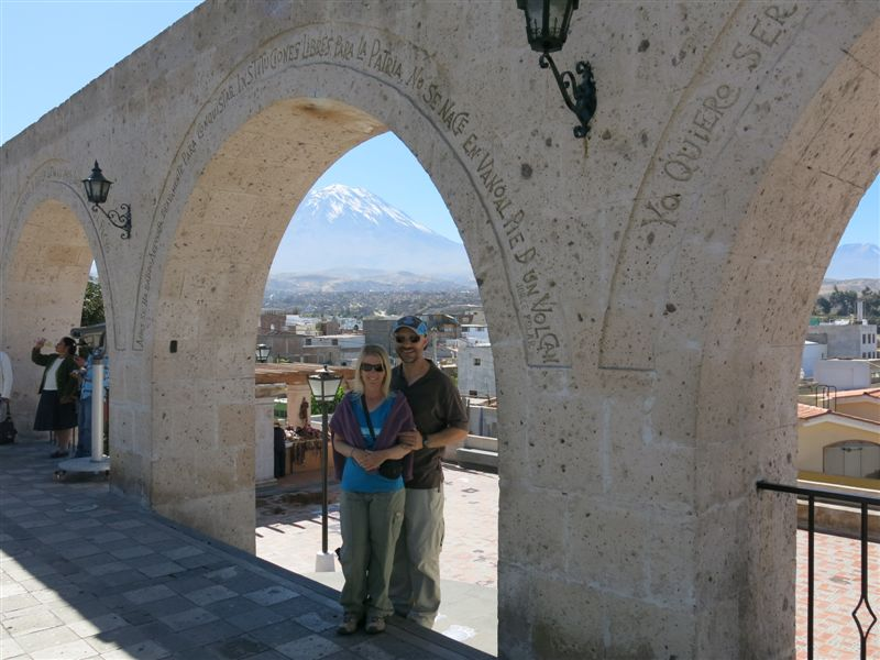 Arequipa & Colca Canyon 4D - View of Misti Arequipa.JPG
