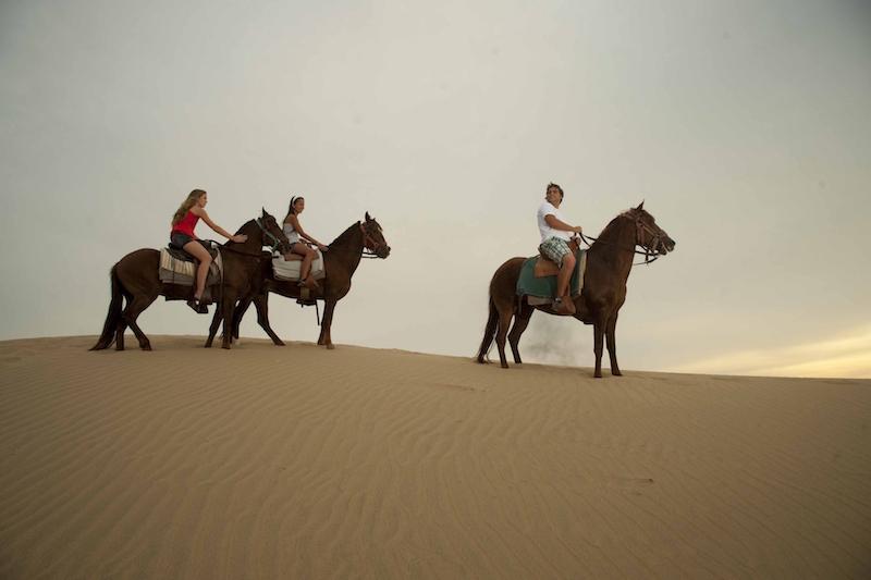 Paracas & Nazca Lines 3D - Horseback Riding on Dunes.JPG