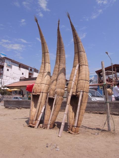 Huanchaco, La Libertad - Reed Boats Drying.jpeg