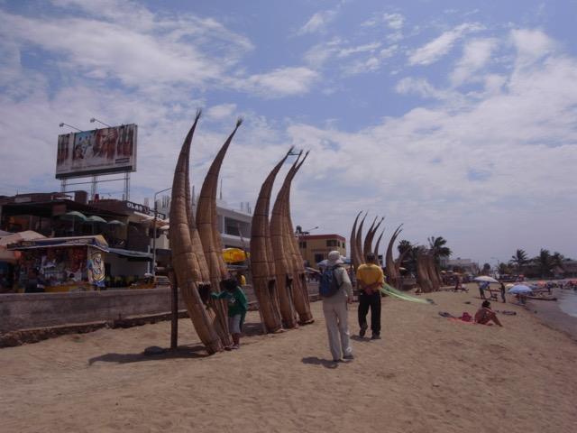 Huanchaco, La Libertad - Reed Boats on Beach.jpeg