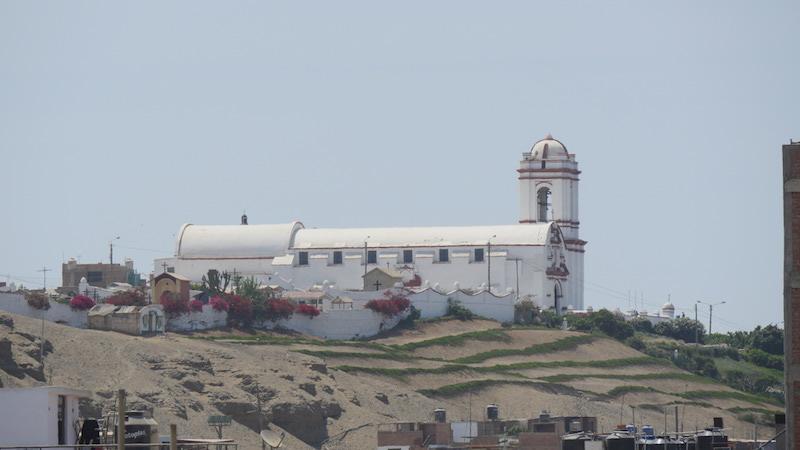 Huanchaco, La Libertad - Virgen del Socorro Church.JPG