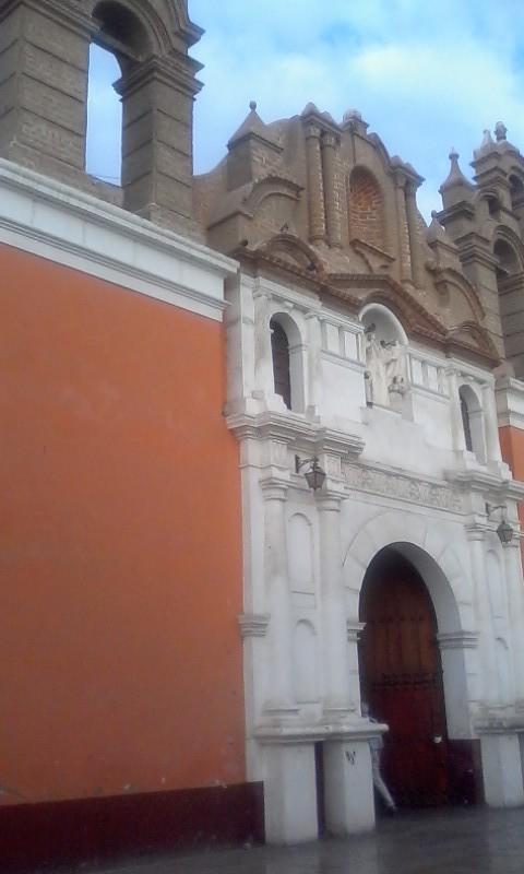 La Merced Church entrance.