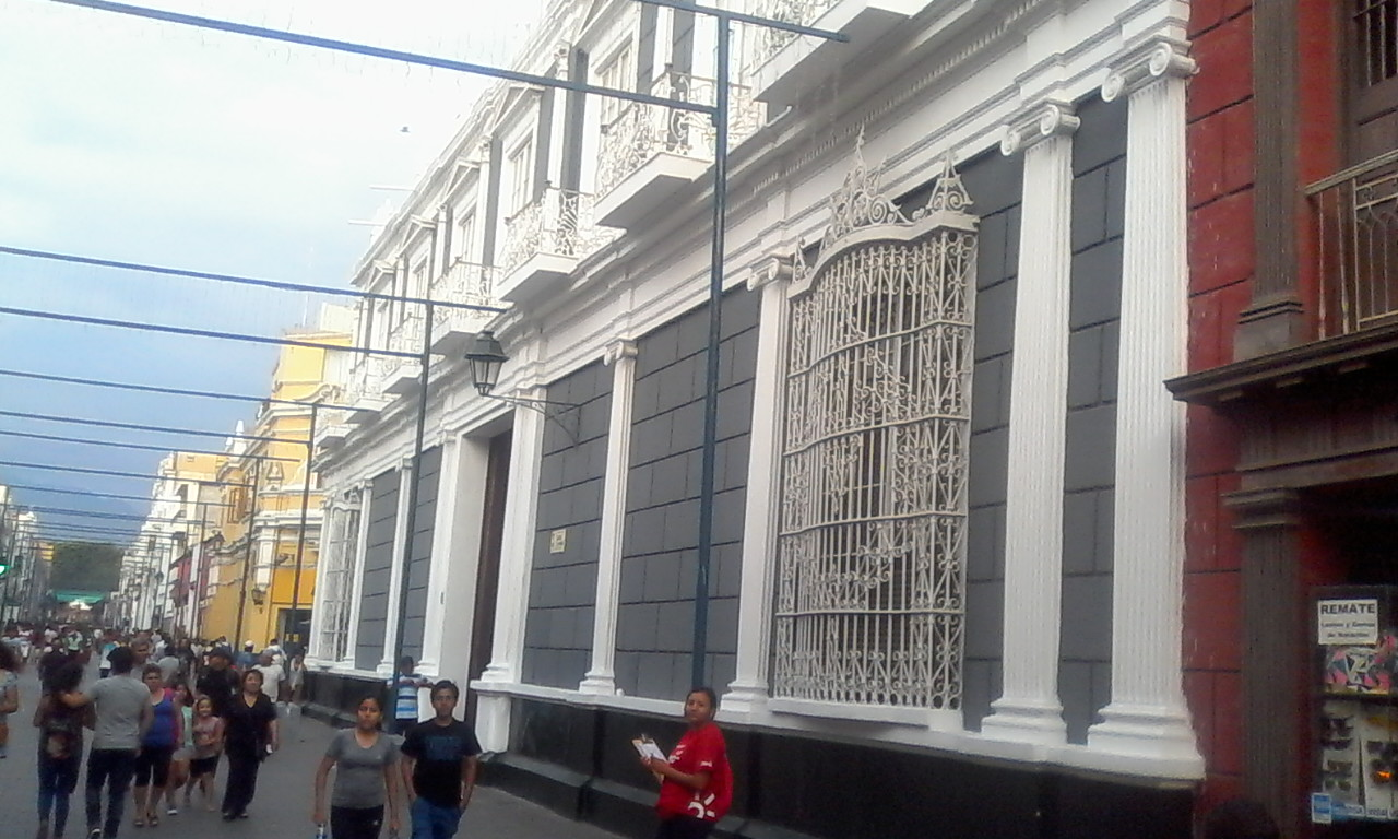 Iturregui Palace, now the Club Central.
