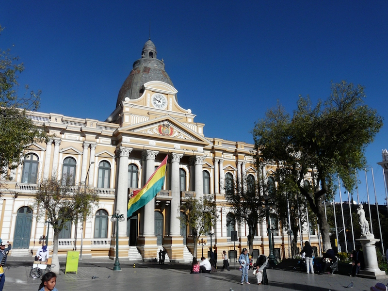 La Paz & Uyuni 4D - Government Building.JPG