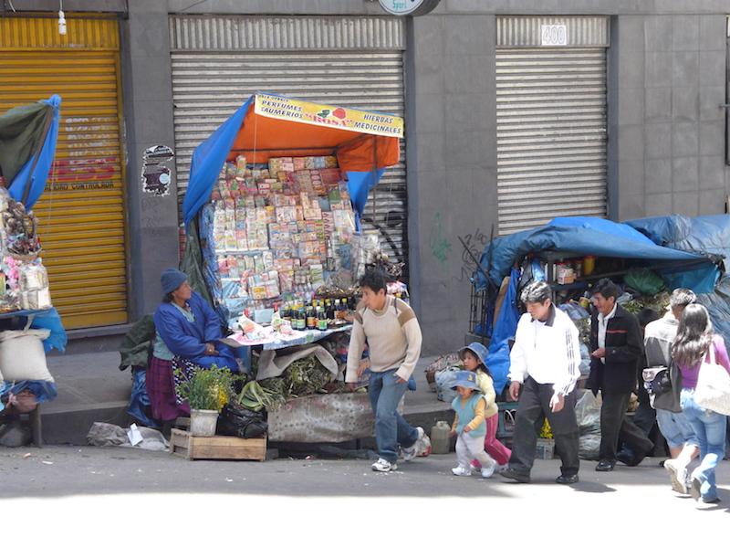 La Paz & Uyuni 4D - Market Vendors in La Paz.JPG