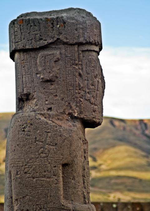 La Paz & Uyuni 4D - Tiwanako Anthropomorphic Figure.jpg