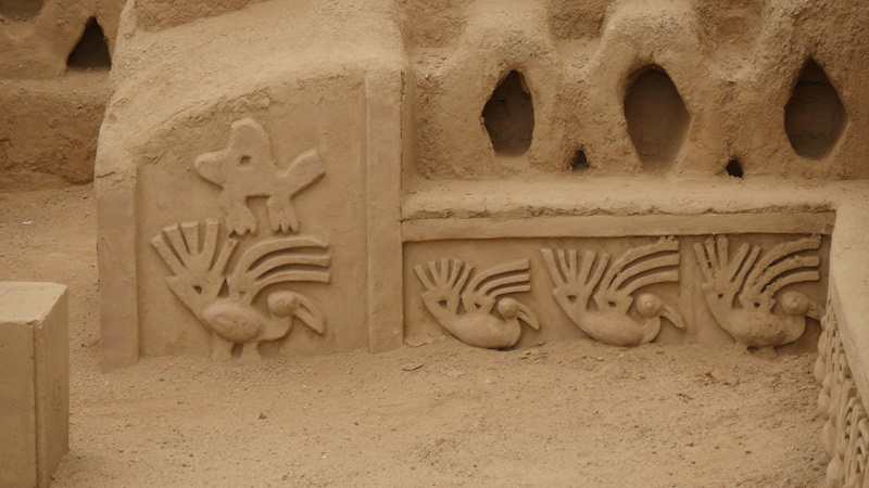 Chiclayo - Trujillo - Chan Chan Sea Carvings.JPG