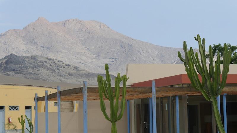 Chiclayo - Trujillo - Museum of Moche Huacas & Mountain.JPG
