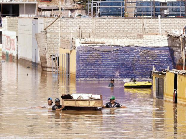 El Niño Floods, Peru 2017 - Huarmey