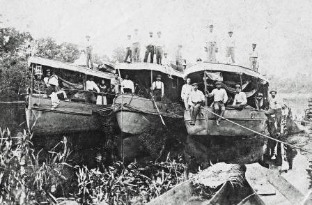 Fitzcarrald: Iquitos Rubber Baron - Working Vessels