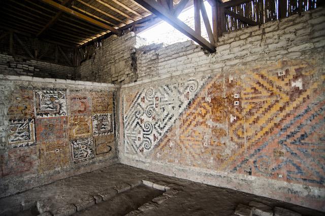 Trujillo, La Libertad - El Brujo Archaeological Site - Mural.jpg