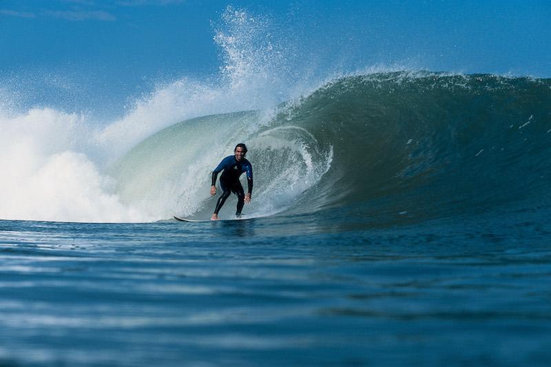 Surfing at Pacasmayo.