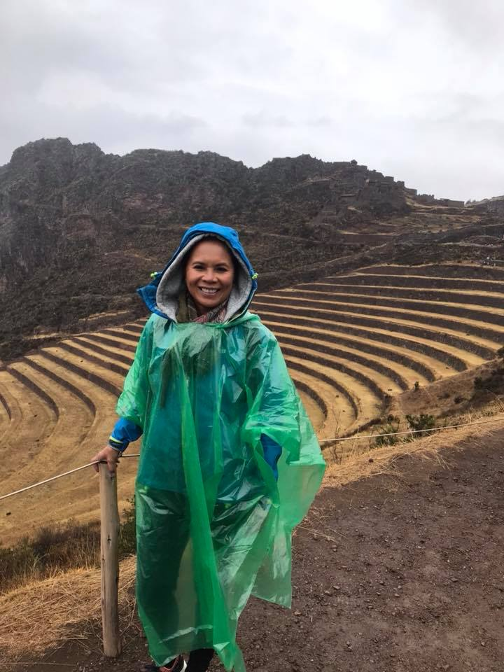 Two days of  acclimatisation in Sacred Valley  before our Lares trek. The weather doesn't look too promising!