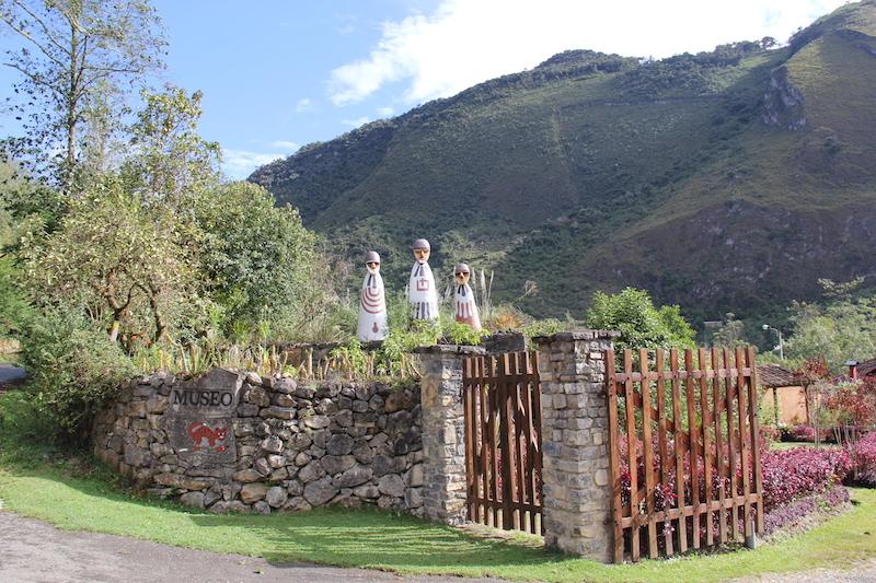 The entrance to Leymebamba Mummy Museum.