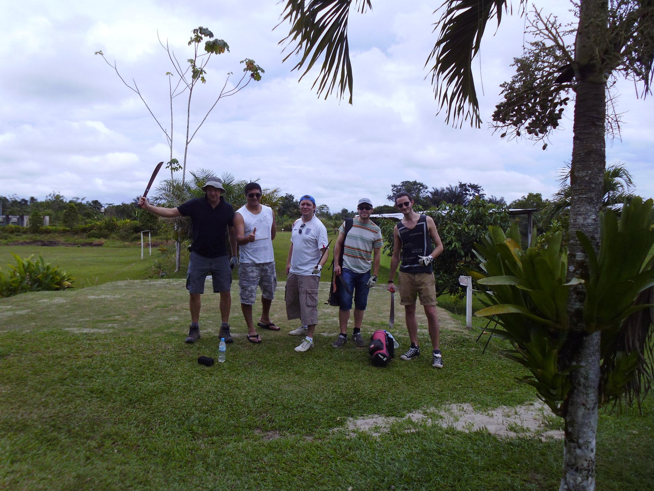 Best Amazon Experiences - Amazon Golf Course, Iquitos.JPG