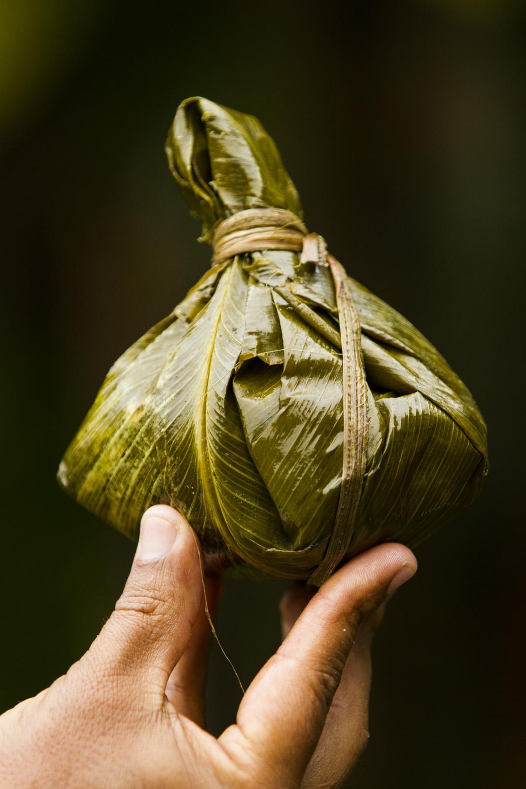 Amazon Cuisine - Juanes - Bijao Leafe Wrapping.jpg