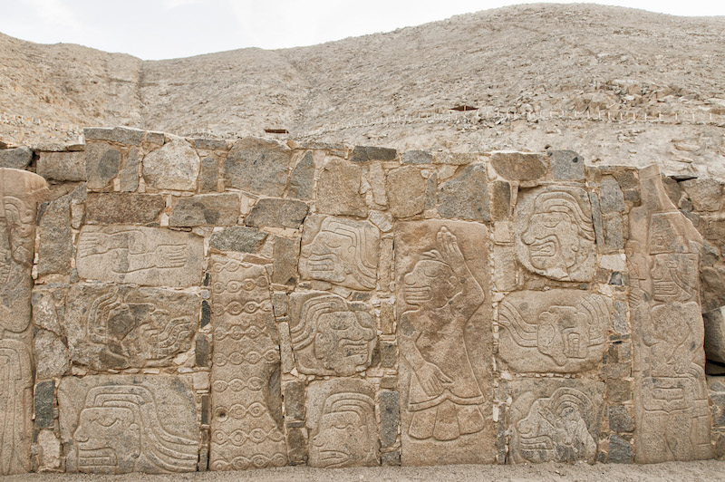 Sechin Archaeological Complex, Ancash - Friezes on Granite Stones.jpg