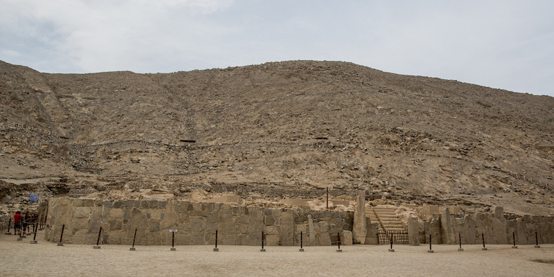 Sechin Archaeological Complex, Ancash - Sechin Alto.jpg