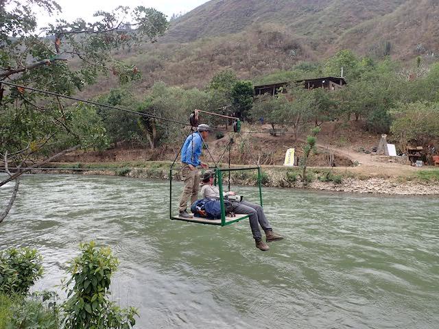 Van Eeeden x 2 - Gran Vilaya Trek & Tambopata Testimonial - Crossing River.JPG