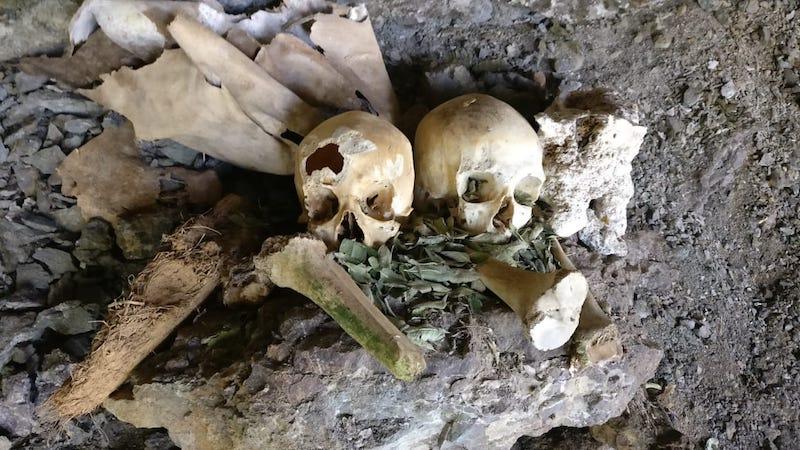 El Tigre Sarcophagi - Chachapoyas - Amazonas - Human Remains.jpg