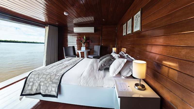 R&F Amazon Cruise: Master Suite View