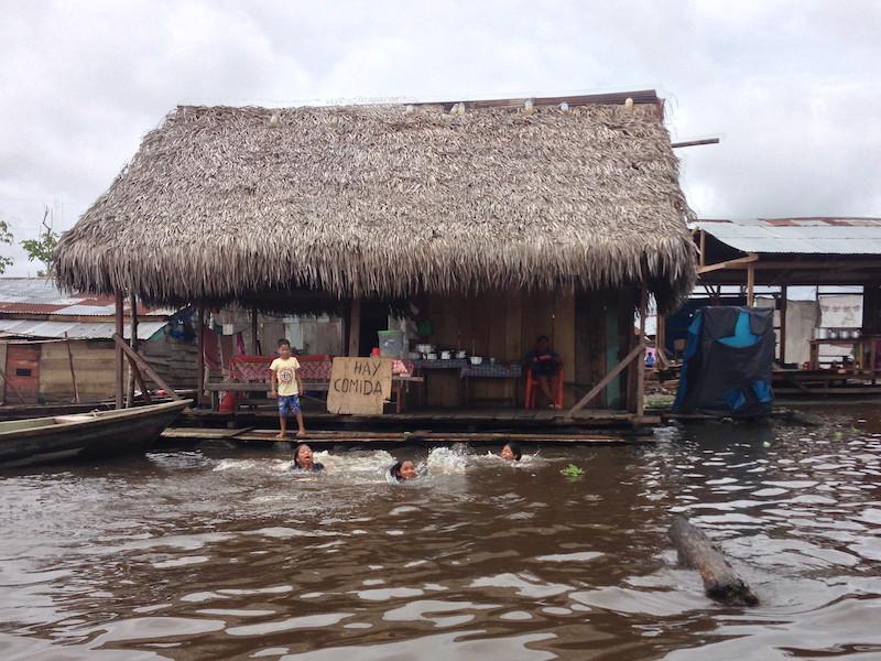Elizabeth Harrold - Peruvian Amazon Blog - Belen Restaurant with Pool.jpg