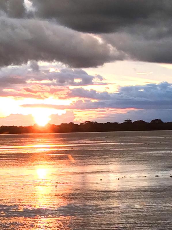 Elizabeth Harrold - Peruvian Amazon Blog - Sunset on MV Zafiro.jpg