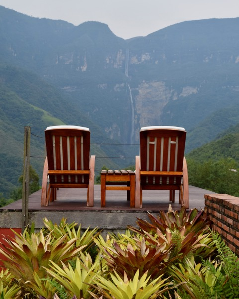 O'Donnell x 2 - Pumarinri & Gocta Lodge Review - Gocta Falls & Reclining Chairs.jpeg