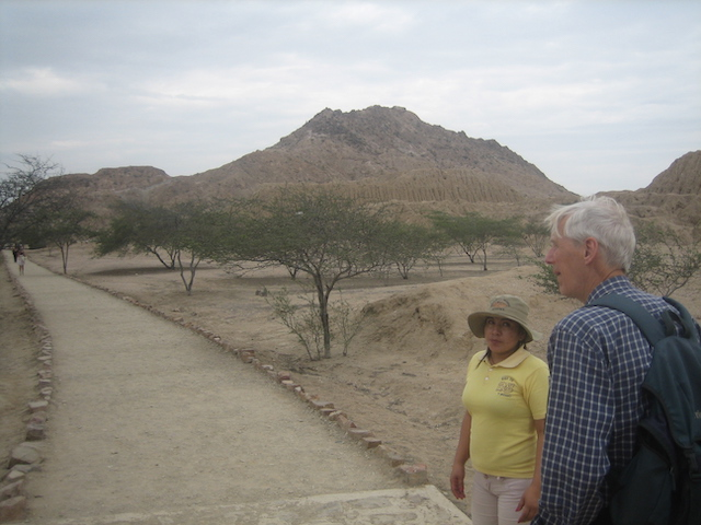 A visit to the pyramids at Tucume.