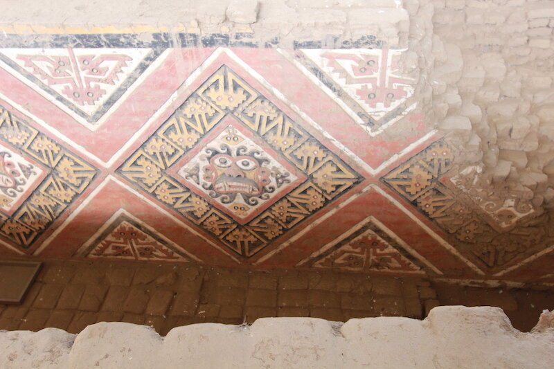 Sartin x 2 - Moche Tour - Huaca de la Luna, Trujillo - Frieze Detail.jpg