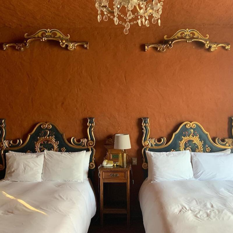 Sartin x 2 - Moche Tour - Moche Sanctuary Lodge Bedroom, Trujillo.jpg