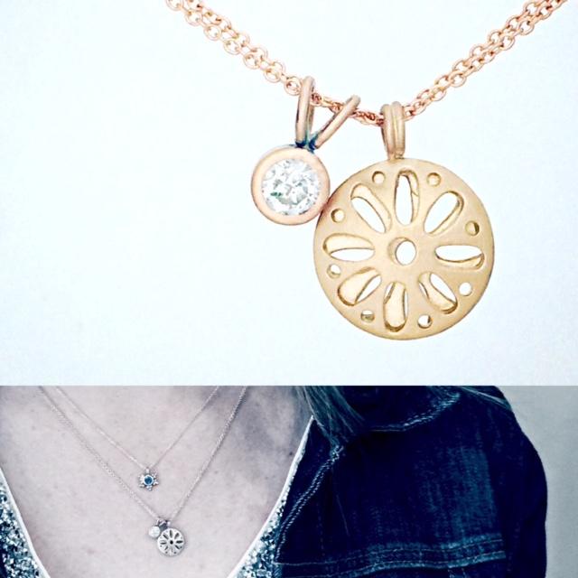ario diamond and gold necklaces