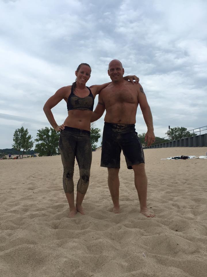 Beach WOD in Michigan