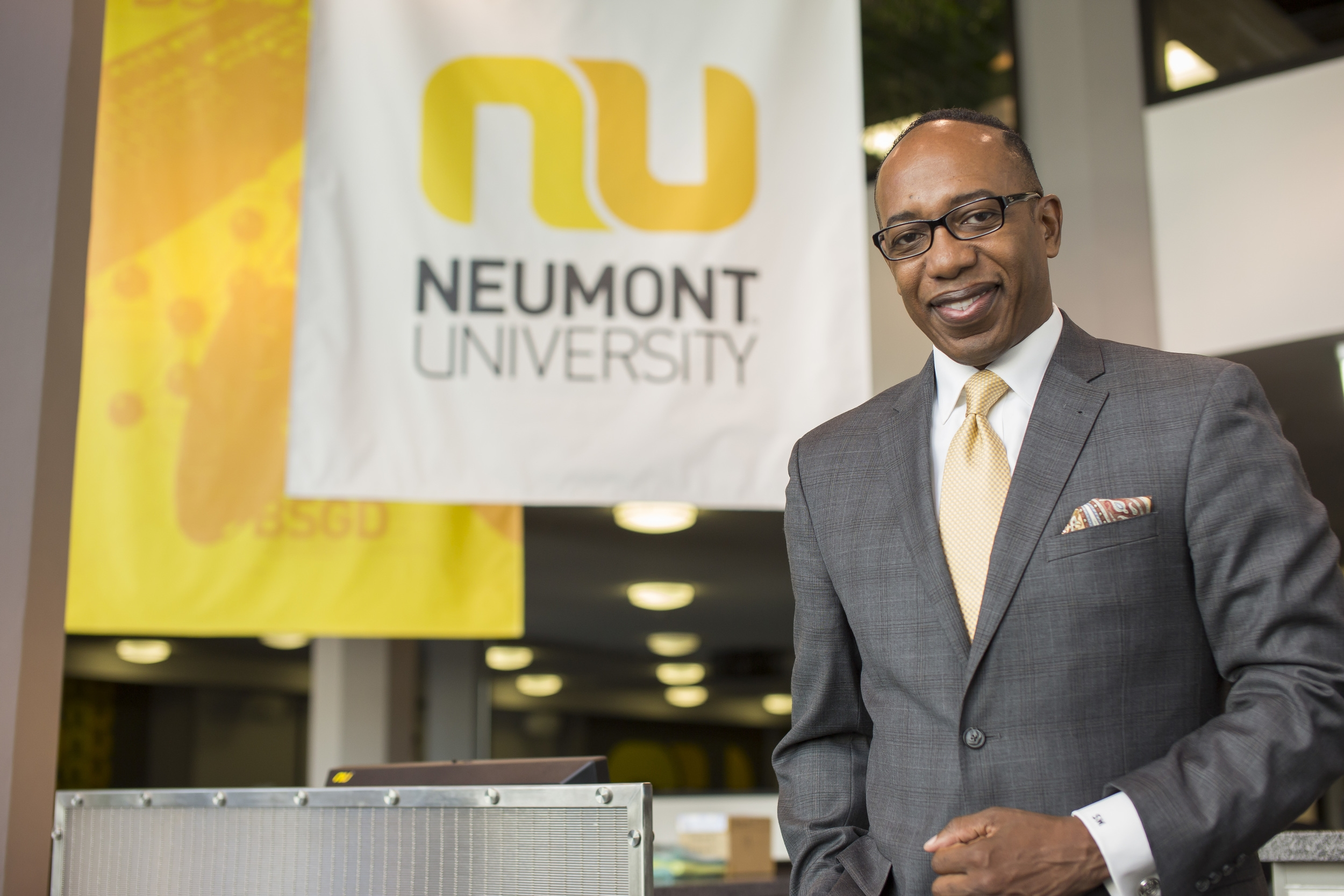 Shaun McAlmont joined Neumont University in July 2015.