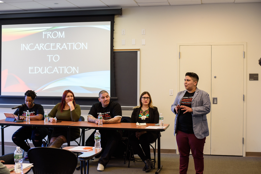 Student leaders from California share their narratives from incarceration to higher education at the 2017 Beyond the Bars Conference, Columbia University.