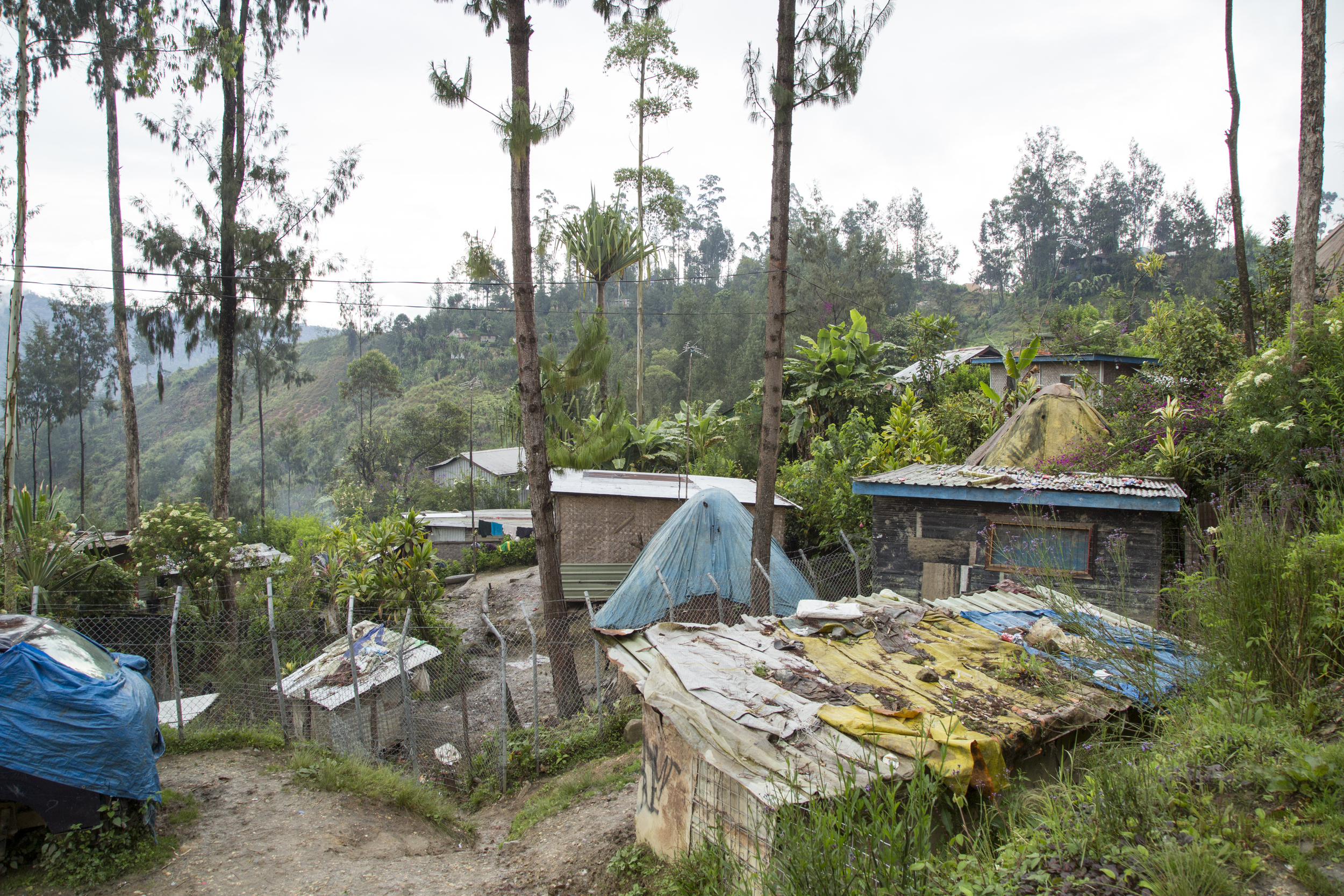 Panadake Village, Porgera, 2015
