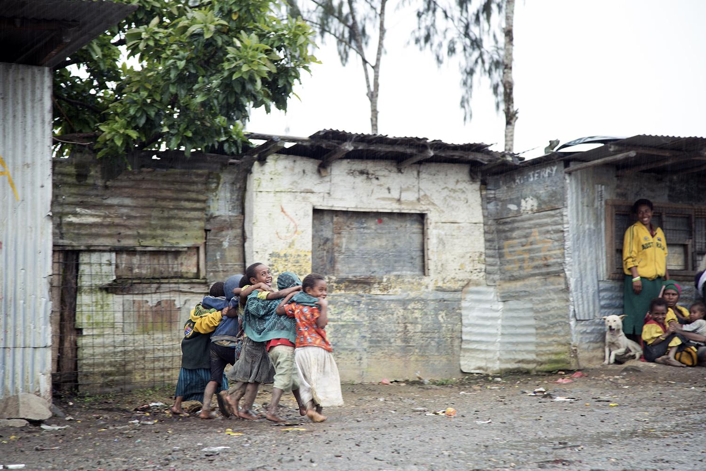 Kids, Mugalep Village, Porgera, 2015